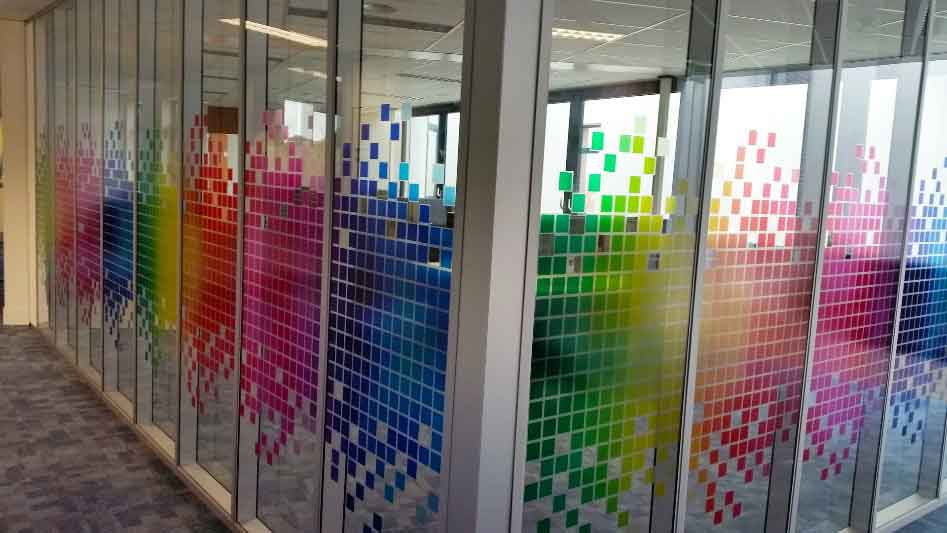Office Window Film